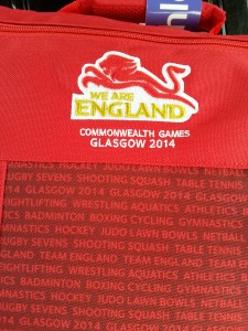 Jade Lally - CommonwealthGames Glasgow 2014 England Vest
