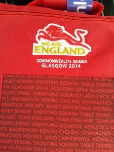 Jade Lally - CommonwealthGames Glasgow 2014 England Vest