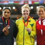 Jade Lally - Commonwealth Games Glasgow 2014 Women's Discus Bronze Medal