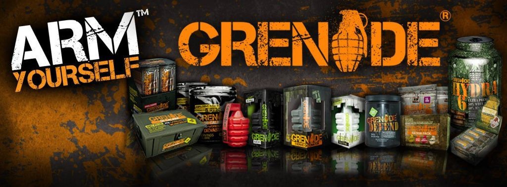 Jade Lally - Grenade Nutrition